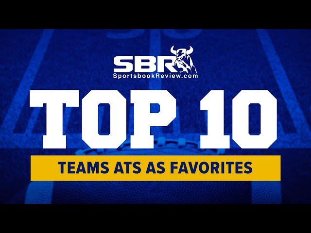 NCAAF Top 10 Favorite Teams ATS (Against the Spread)