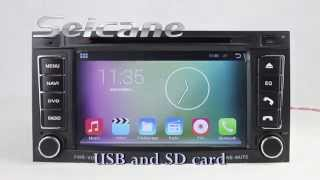 2003 2011 android 4 4 vw touareg navigation system stereo with usb port wifi dvd bt canbus radio rds