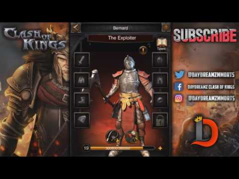 HOW TO GET DEFENSIVE BUFFS FROM THE HERO GARRISON - CLASH OF KINGS