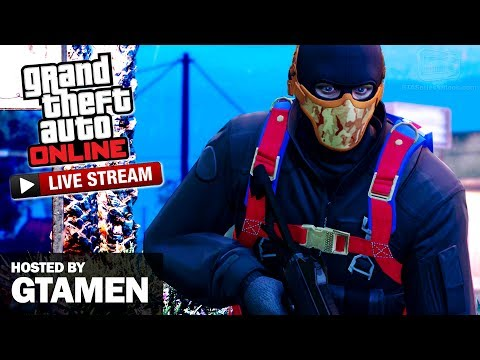 GTA Online Vagner Races and Dawn Raid LIVESTREAM (with Gtamen)