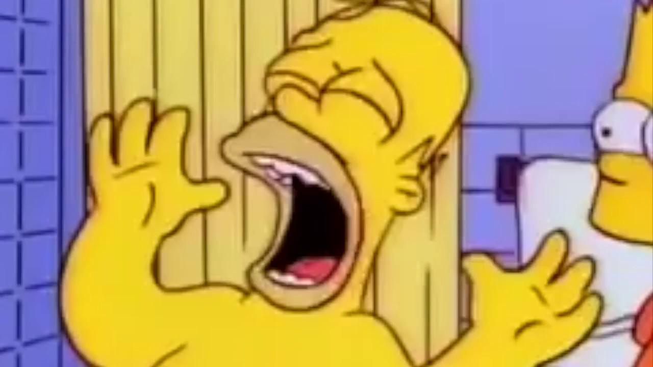 I Simpsons Bart Colpisce Homer Con Una Sedia Meme Youtube
