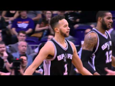 Kyle Anderson Dunk Over Kris Humphries