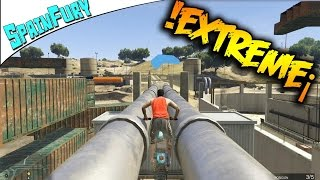 !! MOTOCROSS EXTREMO !! TIERRA Y AIRE - Gameplay GTA 5 Online Funny Moments
