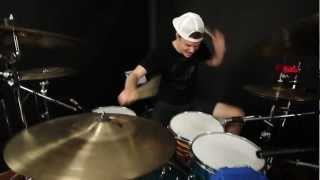 Phil J - Gangnam Style - PSY - Drum Remix Cover