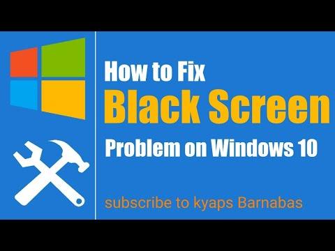 Nguyên Nhân Và Cách Khắc Phục Sửa Lỗi Màn Hình Đen Trong Windows 10 - VERA STAR