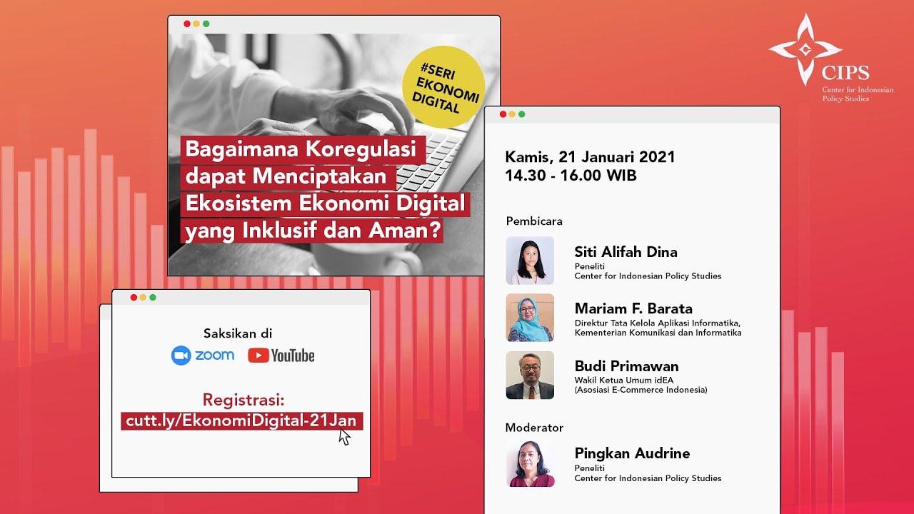 Siaran Pers | Pentingnya Co-Regulation Untuk Mendorong Pertumbuhan Ekonomi Digital Indonesia