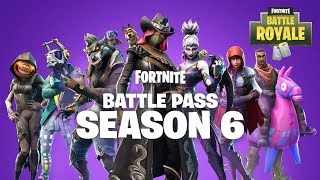 PRESENTATION PASSE DE COMBAT SAISON 6 SUR FORTNITE BATTLE ROYALE