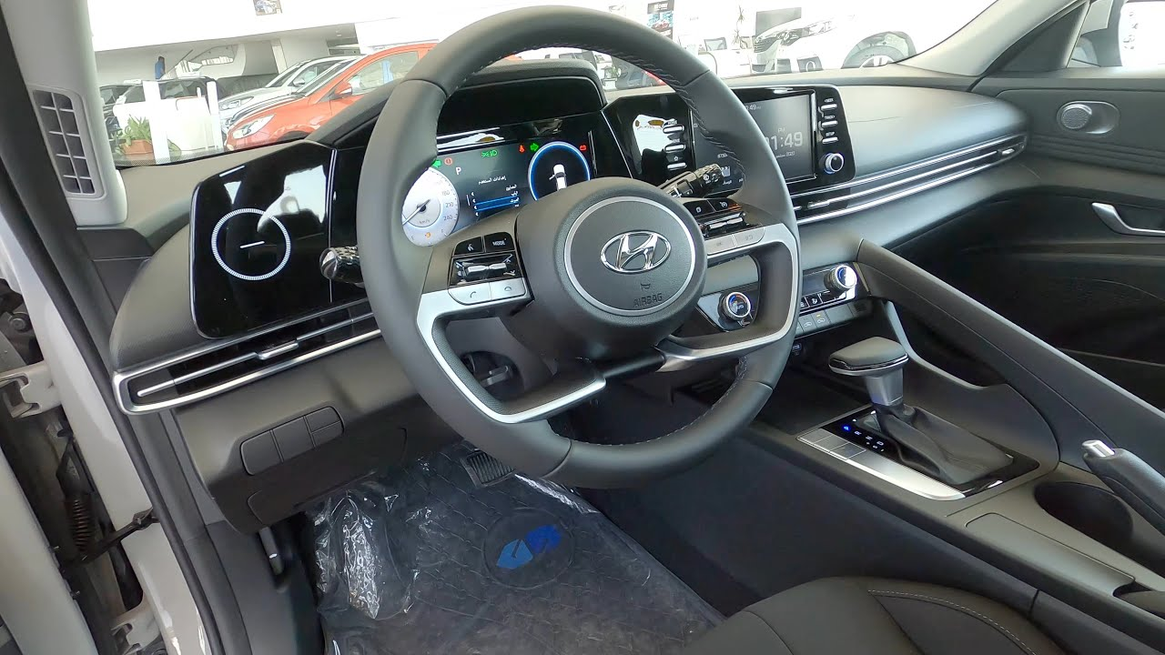 استعراض مواصفات هيونداي النترا 2021 مودرن Hyundai Elantra Cn7 Youtube