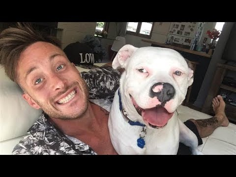 Guy Posts A Selfie With His New Dog Only To Have People Immediately Call The Police On Him