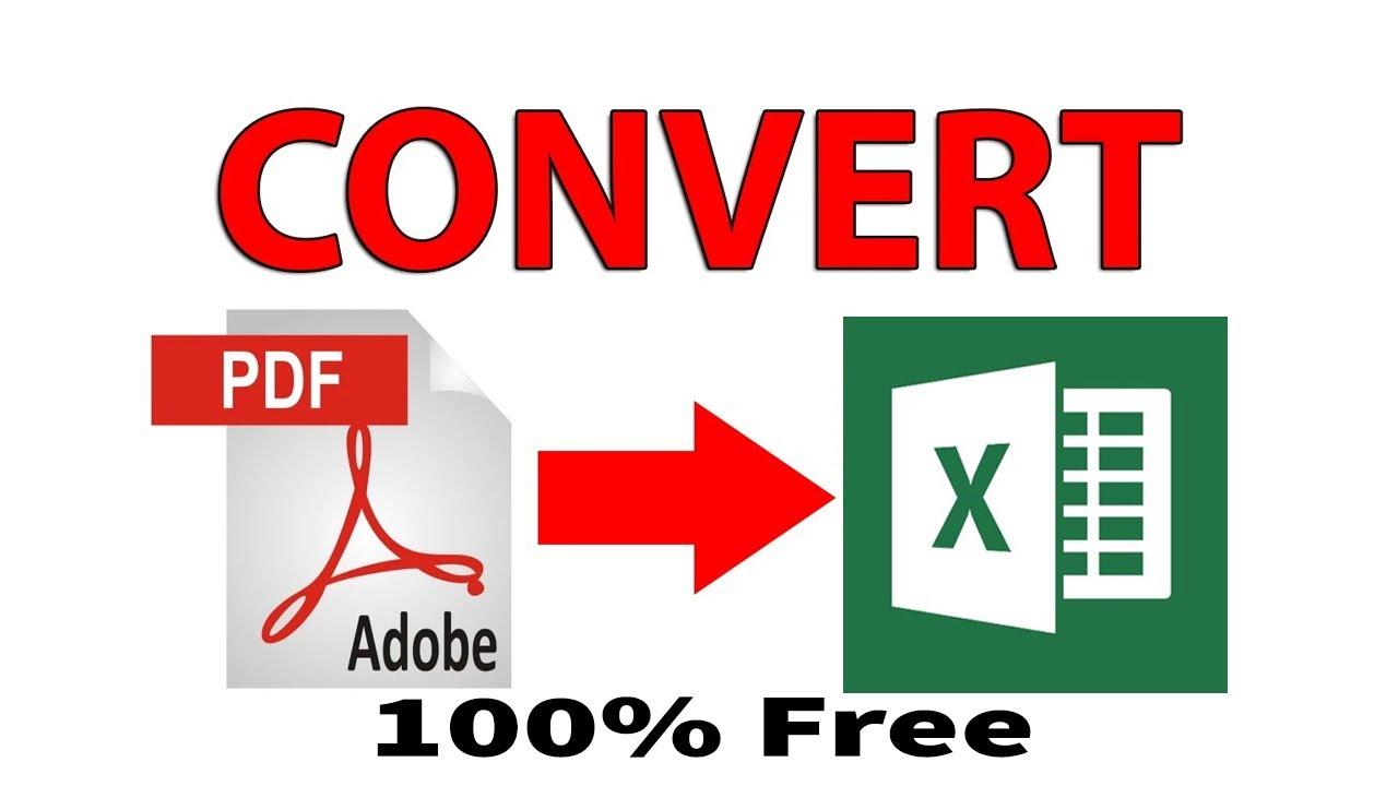 export pdf to excel online free