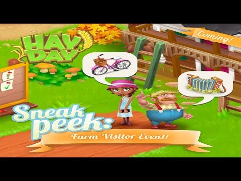 Hay Day Autumn Fall Update - Sneak Peek 4 The Farm Visitor Event