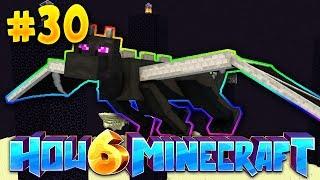 How To Minecraft 6: AN *INSANE* CUSTOM ENDERDRAGON FIGHT! (#30)