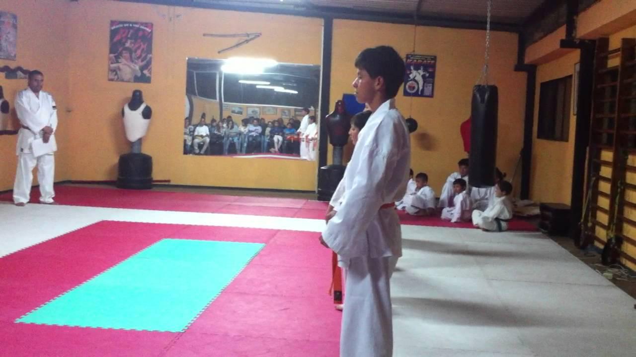 Katas Para Cinta Verde Karate Do Youtube