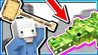 【Minecraft | 末世時代】#2 鱷魚別咬我????我製造了強大的工具????