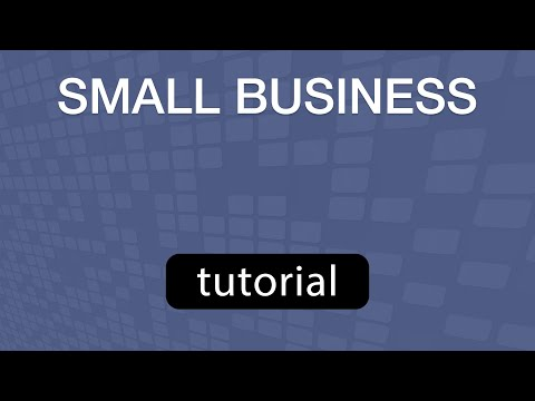 GoVenture Small Business TUTORIAL VIDEO