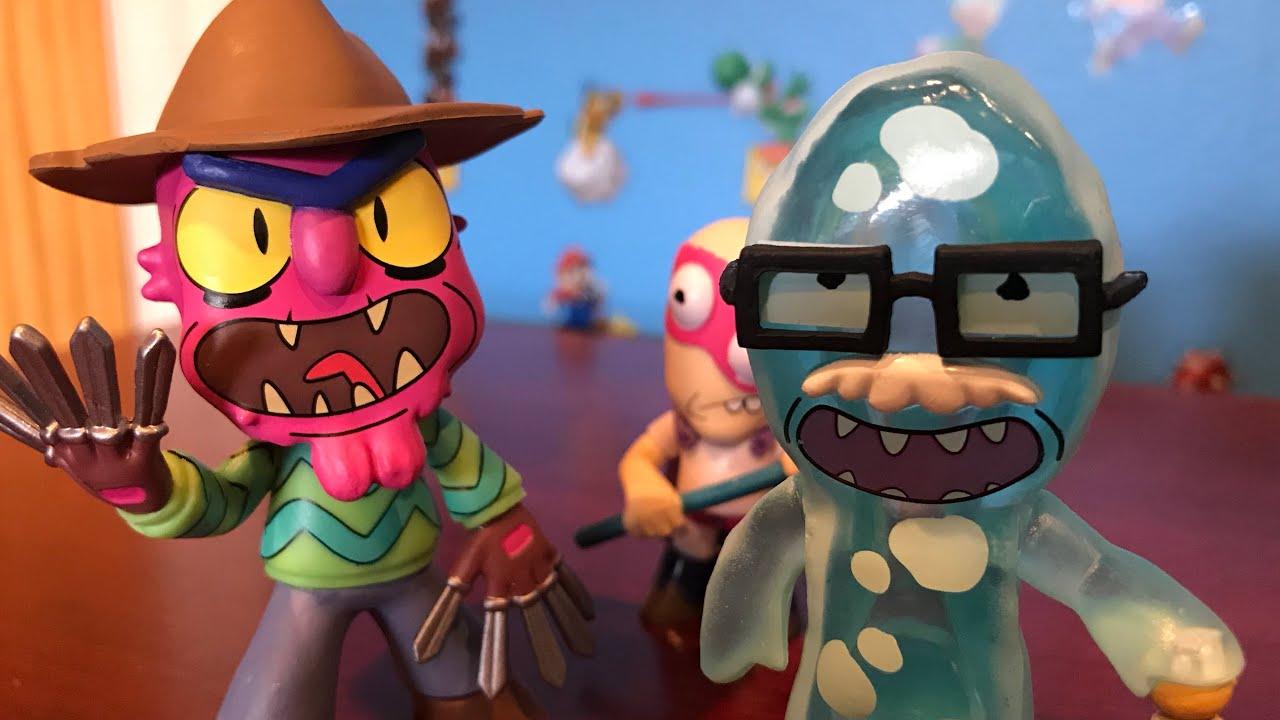 Funko MYSTERY MINIS Rick /& Morty.