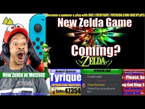 New Zelda Game Coming On Nintendo Switch Youtube