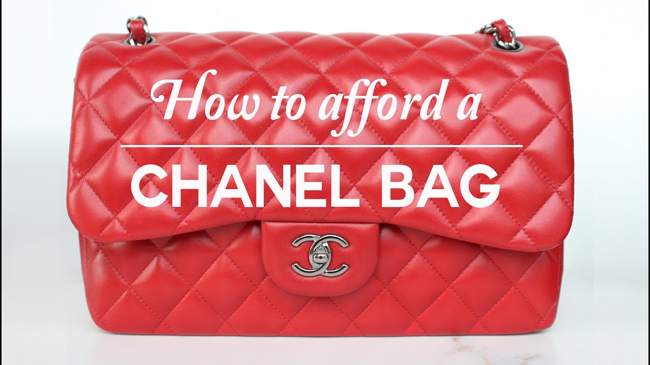 e4adb526bf3f87 HOW TO AFFORD A CHANEL BAG - YouTube