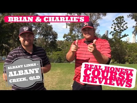 Real Golf Course Reviews with Brian & Charlie @ Albany Links, Albany Creek - Queensland