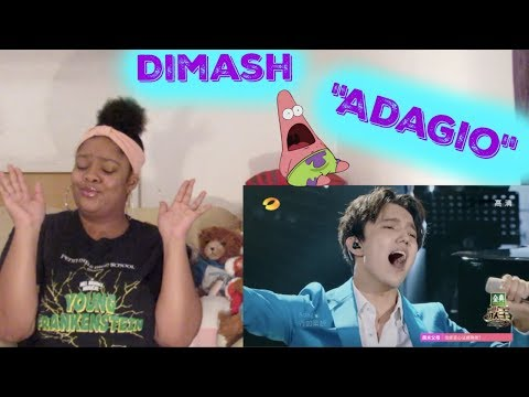 Dimash- Adagio Reaction Mind Blown