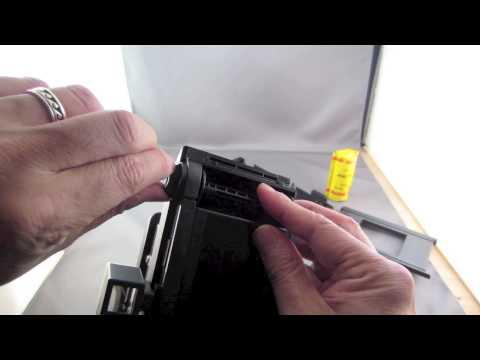 Lomography Belair X 6-12 Camera Film Loading