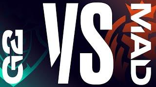 G2 vs. MAD - Playoffs Round 1 Game 1   LEC Summer Split   G2 Esports vs. MAD Lions (2020)