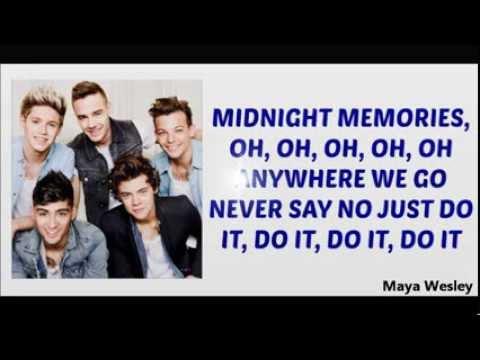One Direction - Midnight Memories (Lyrics and Pictures) (Album Midnight Memories)
