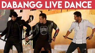 Prabhu Deva, Salman Khan & Kiccha Sudeep Rocking Belt Dance