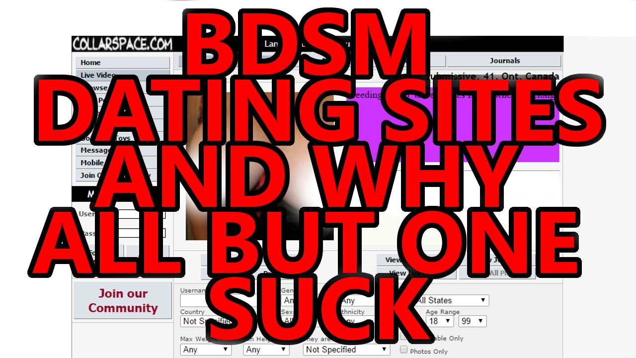 bdsm dating sites - youtube