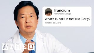Ken Jeong Answers More Medical Questions From Twitter | Tech Support | WIRED thumbnail