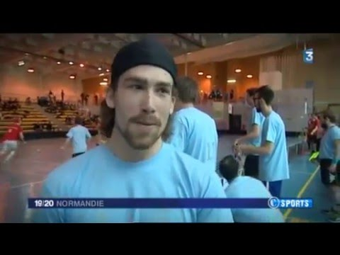 Reportage France 3 Normandie - Rouen Floorball (10/04/2016)