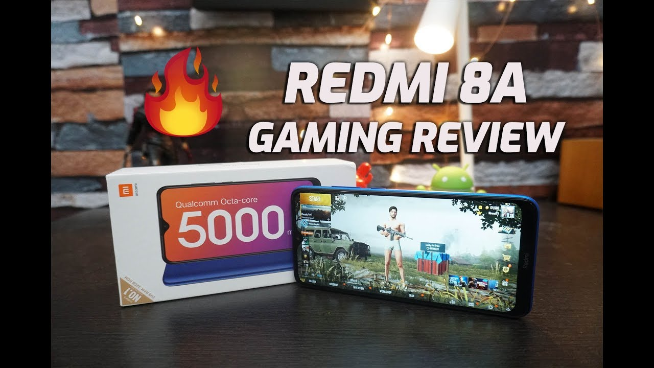 Redmi 8A Gaming Review with PUBG Mobile, Heating and Battery Drain