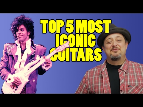Top 5 Iconic Guitars | Marty Music