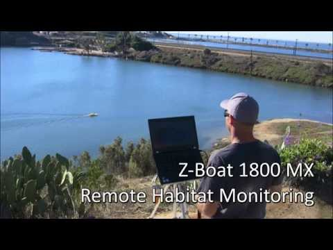 Oceanscience Z-Boat 1800MX Remote Aquatic Habitat Surveying BioSonics Echosounder