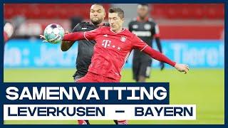 Lewandowski tegen Bosz in strijd om koppositie 🥇 | Samenvatting Bayer Leverkusen - Bayern München