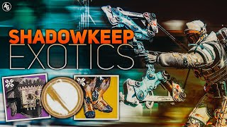 Phoenix Cradle Exotic & Old Destiny Trailer from 2 years ago (Shadowkeep Exotics) | Destiny 2 News