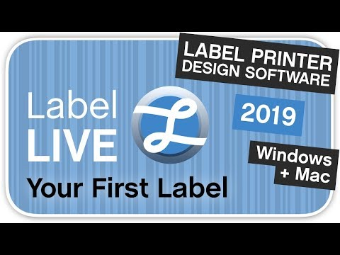 How To Create Your First Label Using Label LIVE Thermal Printer Software