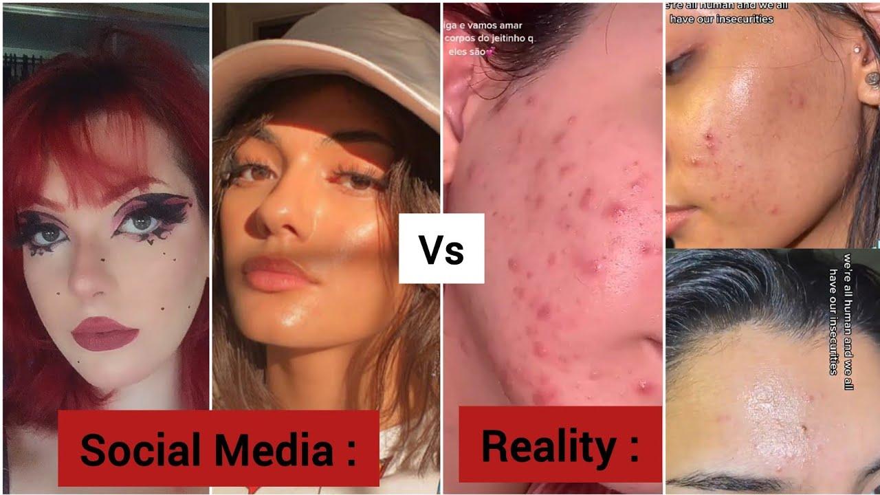 Daily Reminder Social Media Is Fake (Social Media Vs Reality) - Tiktok Compilation (Part 2)