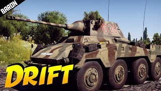 War Thunder 1.69 PUMA Gameplay 'Drift King' (War Thunder 1.69 Tanks Gameplay)