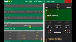 COLOMBIA VS USA COPA AMERICA 2016 BET WIN STAKE    PART 1