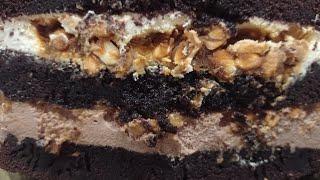 Самый вкусный шоколадный торт Сникерс Домашний рецепт который понравится любому сладкоежке