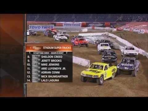 2013 Stadium SUPER Trucks Round #4 Qualcomm Stadium SST on NBC Broadcast