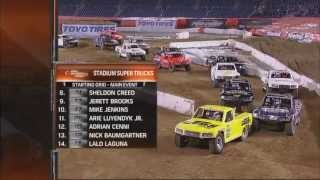 2013 Stadium SUPER Trucks Round #4 Qualcomm Stadium SST on NBC Broadcast