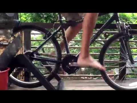 Love Probiotics Human Powered Detachable Bicycle Grinder