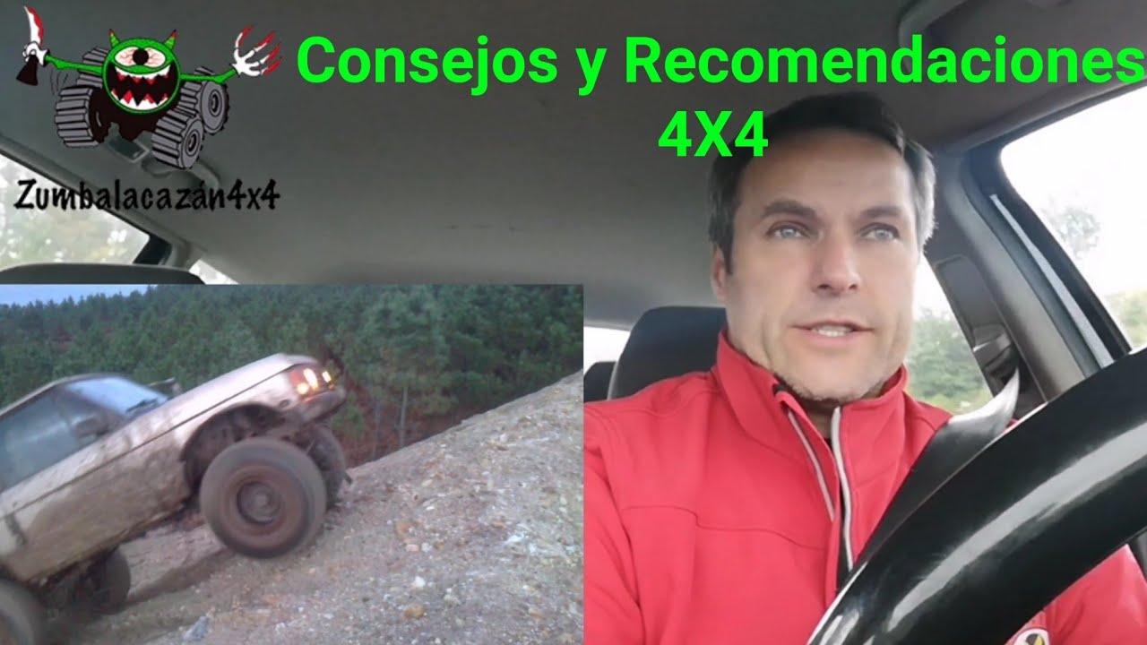 Consejos y Recomendaciones 4X4 para todos, el Off Road desde todos los ángulos 🚙🚜⬆️↗️⬇️↙️