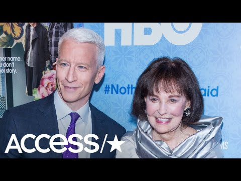 Anderson Cooper Holds Back Tears In Emotional Tribute To His Late Mother, Gloria Vanderbilt | Access