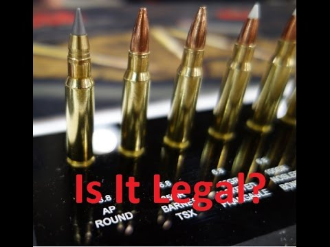 Legality of Armor Piercing ammunition in the United States