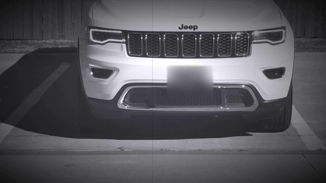 2017 Jeep Cherokee Custom >> 2017 Jeep Grand Cherokee Halogen to HID Conversion | Daytime Edition - YouTube