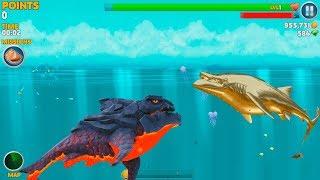 Hungry Shark Evolution Pyro Shark Android Gameplay #46