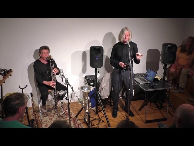 Jaap Blonk und Udo Schindler 84.Salon 3